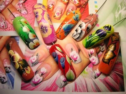 Модный тренд! Китайская роспись ногтей.